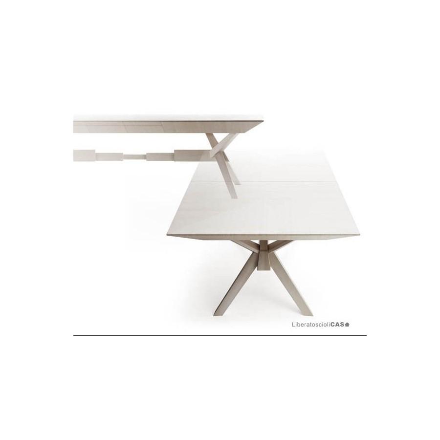 Cavalletti Tavolo Design.Tavolo Cavalletto Allungabile Design Luca Sacchetti Bauline