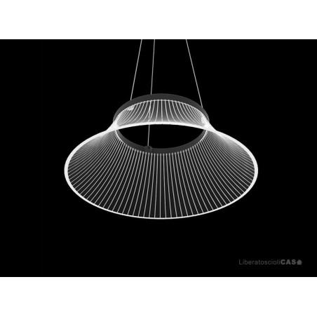 MARTINELLI LUCE - LAMPADA A SOSPENSIONE PLISSÈ DESIGN Emiliana Martinelli
