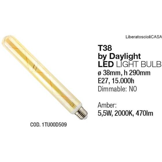 INTERIA - LAMPADINA T38 LED LIGHT BULB