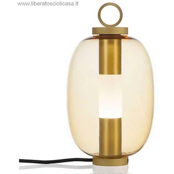 ETHIMO - LUCERNA LAMPADA A LED DA TAVOLO CABLATA
