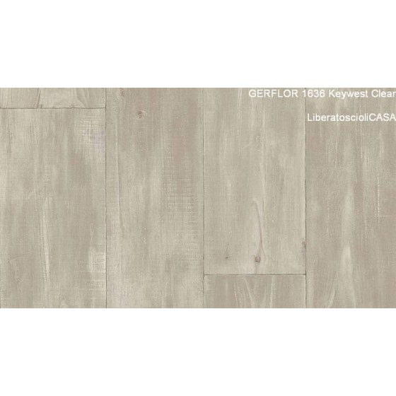 GERFLOR - 1636 Keywest Clear COLLEZIONE HOME CONFORT 4MM