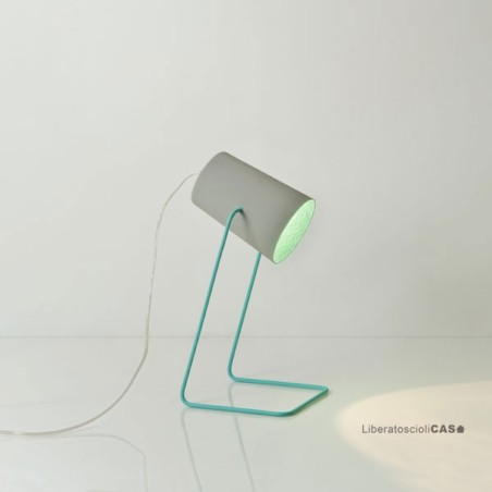 LAMPADA DA TAVOLO Paint T cemento IN-ES.ARTDESIGN