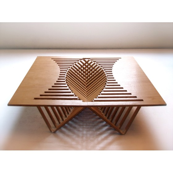 ROBERT VAN EMBRICQS - TAVOLO RISING TABLE