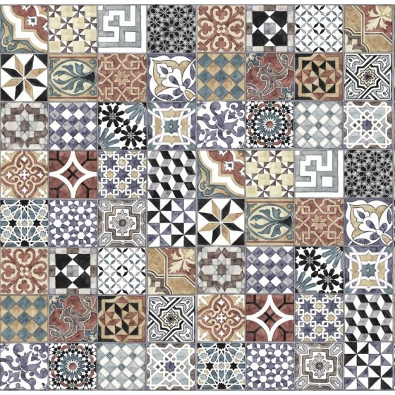 MR PERSWALL - PATTERN TILES CARTA DA PARATI COLLEZIONE EXPRESSIONS