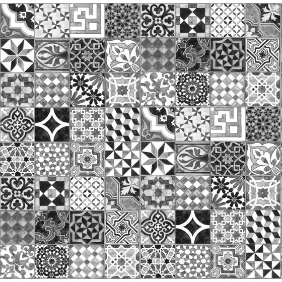 MR PERSWALL - CARTA DA PARATI PATTERN TILES COLLEZIONE EXPRESSIONS