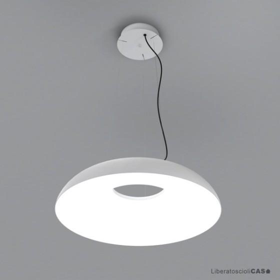 MARTINELLI LUCE - LAMPADA A SOSPENSIONE MAGGIOLONE BIANCA DIAM 60CM
