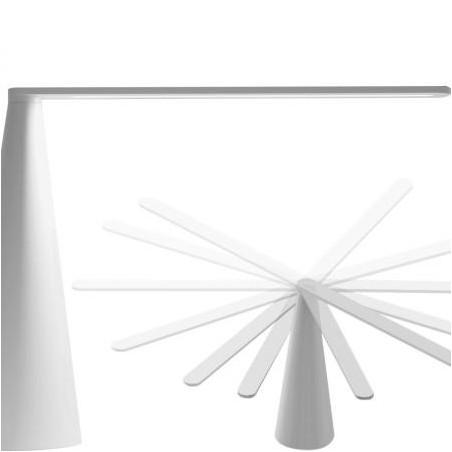MARTINELLI LUCE - LAMPADA ELICA L60 CM BIANCO DESIGN BRIAN SIRONI