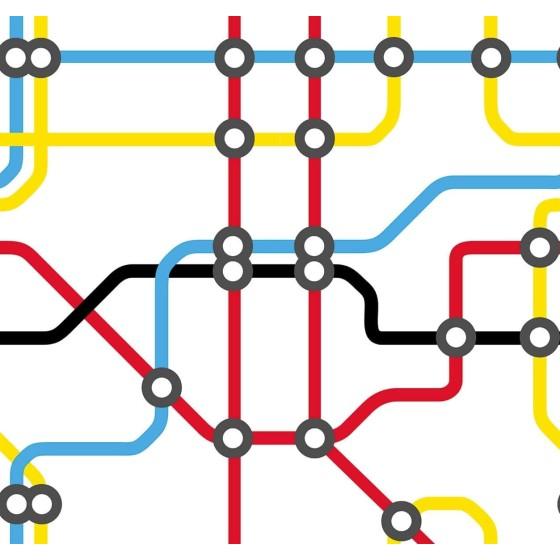 LONDONART - MERILYN CARTA DA PARATI Design by Riccardo Zulato