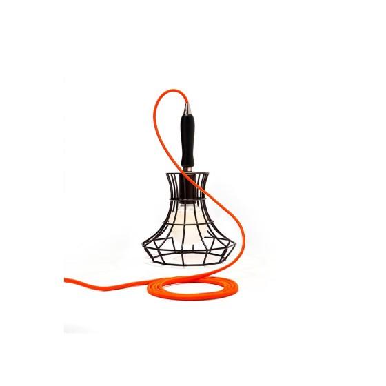 ZAVA - LADY CAGE LAMPADA DA TAVOLO DESIGN MASSIMO ROSATI