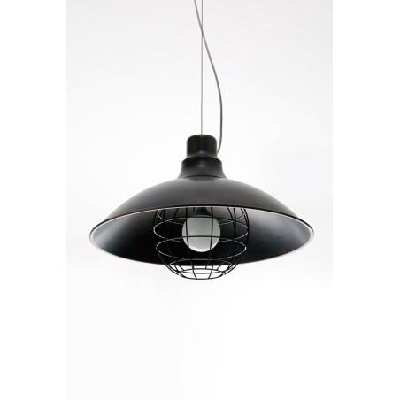 ZAVA - OFFICINA LAMPADA A SOSPENSIONE STILE INDUSTRIALE DIAM.70 H.45cm