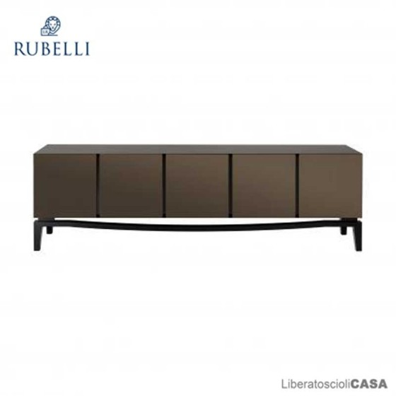 RUBELLI - SQUERO CABINET LOW LIQUID METAL