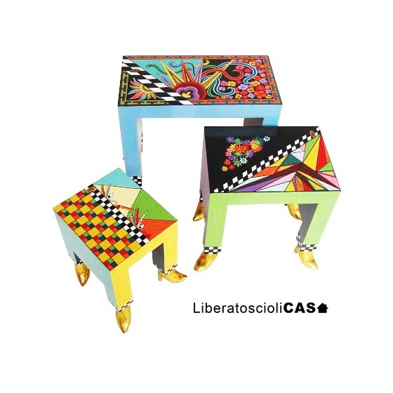 DRAG SIDE TABLES TOMS DRAG 3PZ
