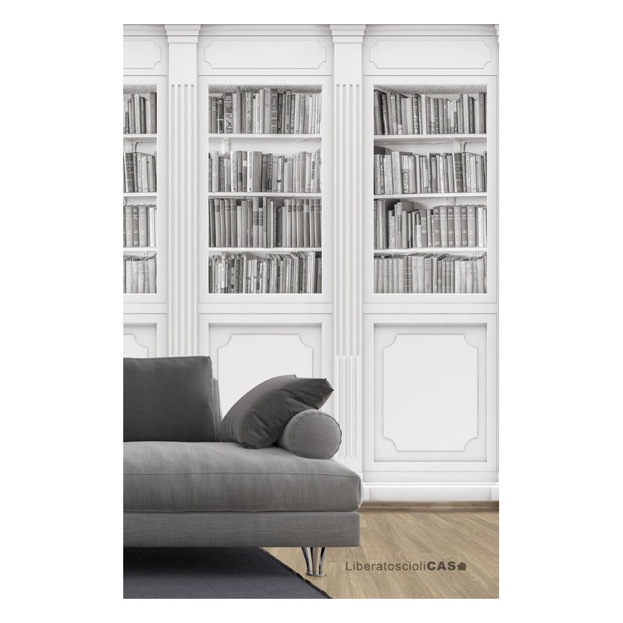 CARTA DA PARATI ILLUSION JOKES Bookcase WALLPEPPER