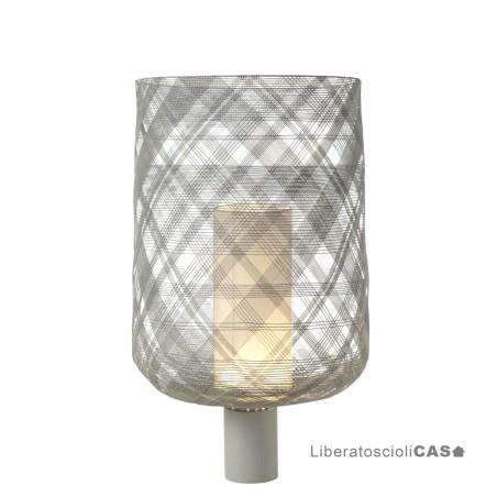 FORESTIER - Lampe antenna L gris clair