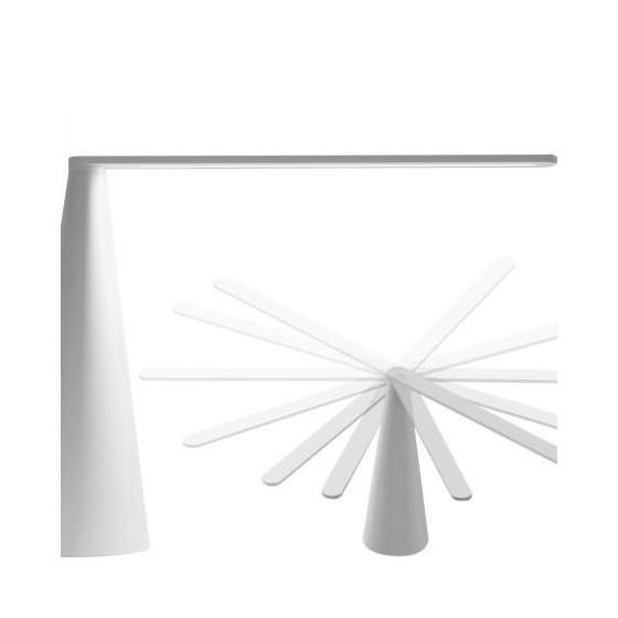 MARTINELLI LUCE - LAMPADA ELICA L76 CM BIANCO DESIGN BRIAN SIRONI