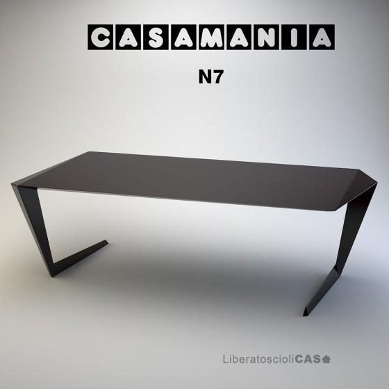 CASAMANIA - TAVOLO N7 IN ALLUMINIO