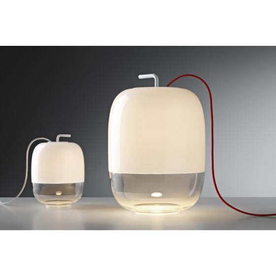 PRANDINA - LAMPADA DA TAVOLO GONG T3 H 424cm