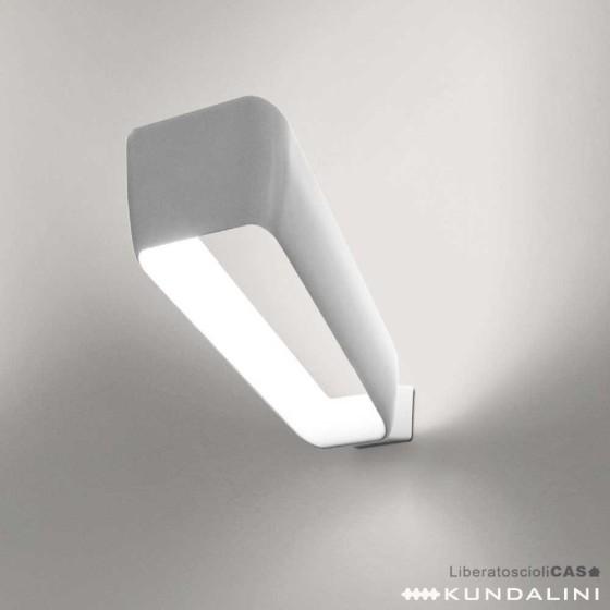 KUNDALINI - LAMPADA DA PARETE FRAME BIANCO