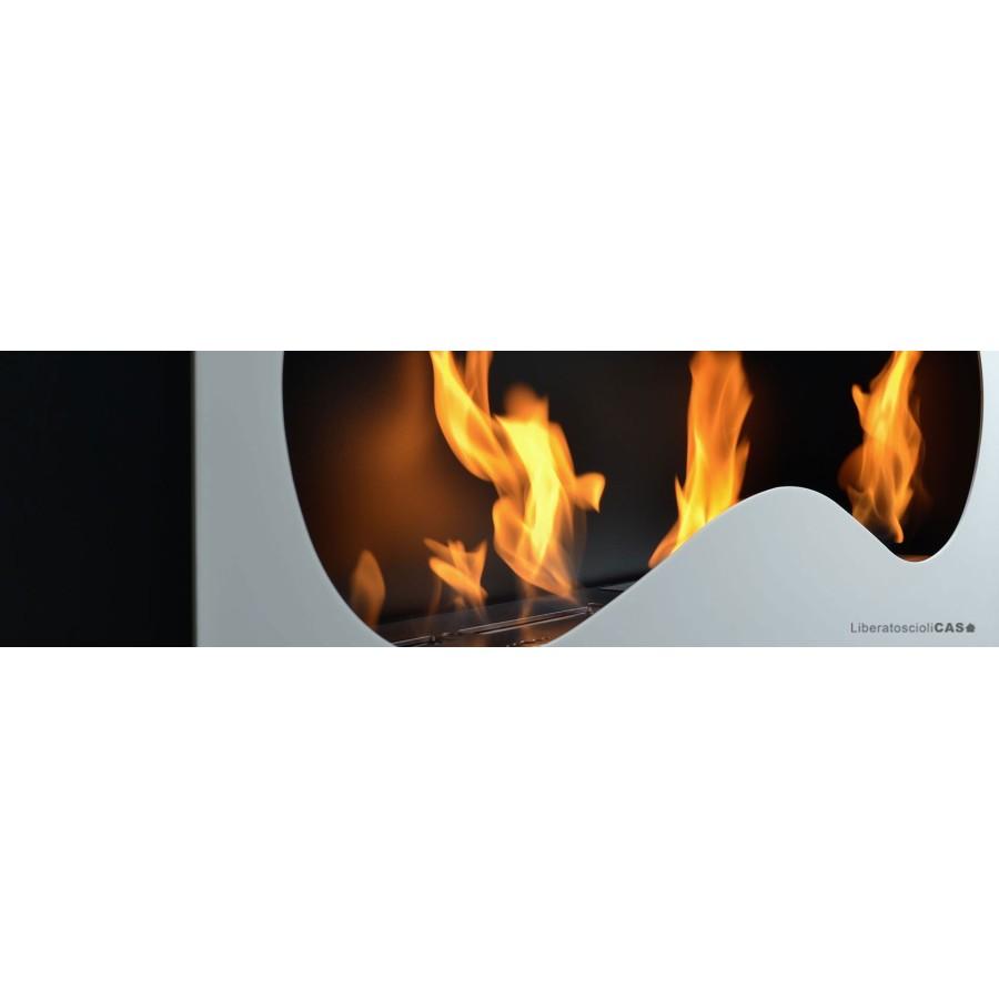 DEA FIRE - INFINITO ORIZZONTALE BIOCAMINO DA PARETE