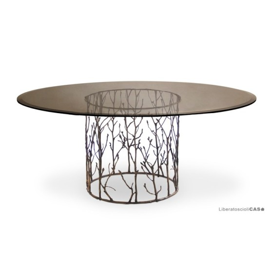 KOKET - ENCHANTED DINING TABLE DIAM.182 CM
