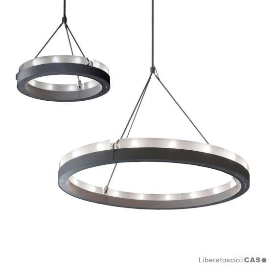 MARTINELLI LUCE - CIRCULAR GLASS LAMPADA A SOSPENSIONE
