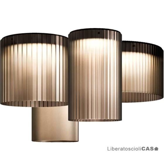 KUNDALINI - GIASS 40 LAMPADA A SOFFITTO
