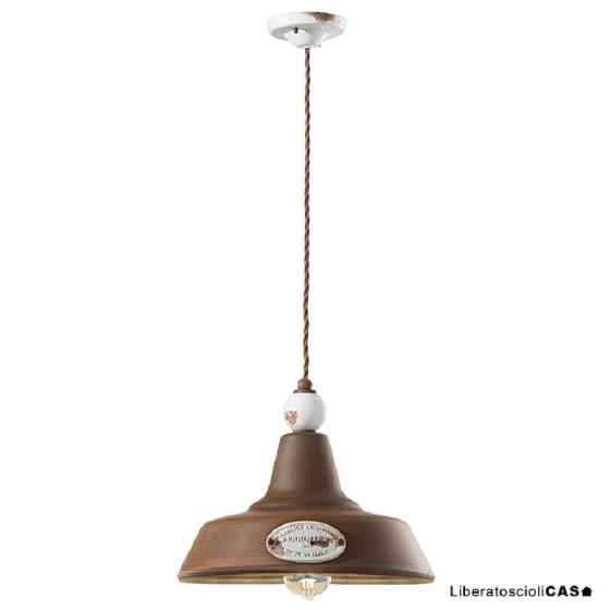 FERROLUCE - GRUNGE LAMPADA DA SOFFITTO