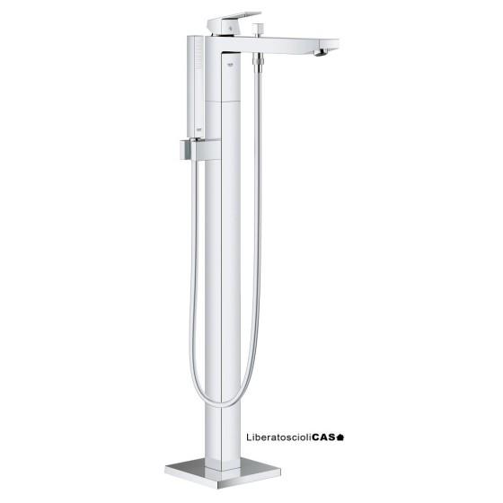 GROHE - Eurocube Miscelatore monocomando per vasca-doccia a pavimento
