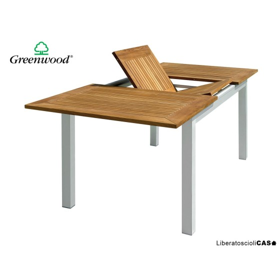 GREENWOOD - Tavolo Ajaccio ALLUNGABILE 150/210×90 cm