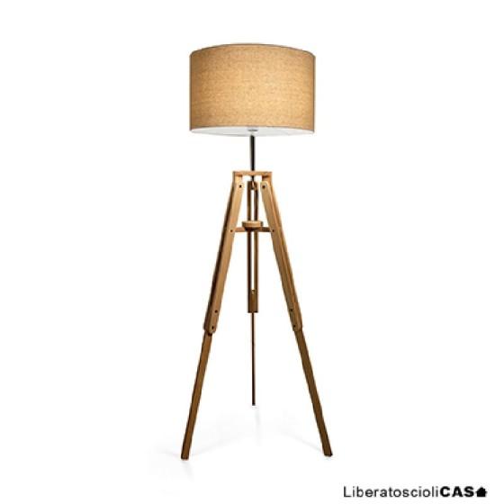 IDEAL LUX - KLIMT PT1 LAMPADA TREPPIEDI DA TERRA IN LEGNO