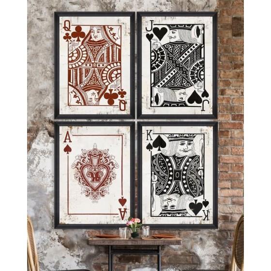 MINDTHEGAP - Set 4 stampe play cards