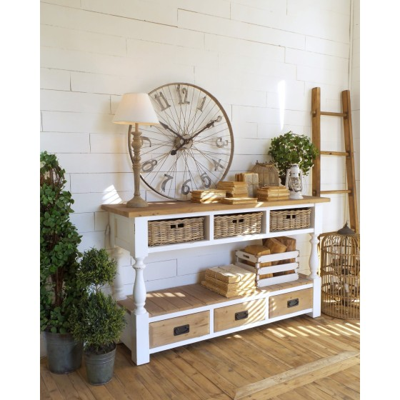 ORCHIDEA MILANO - Consolle antique white