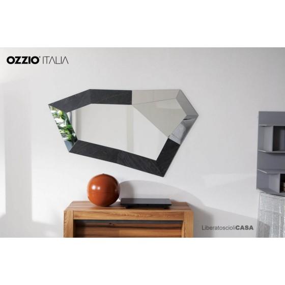 OZZIO - TRIXY SPECCHIO SAGOMATO IN ROVERE WILD