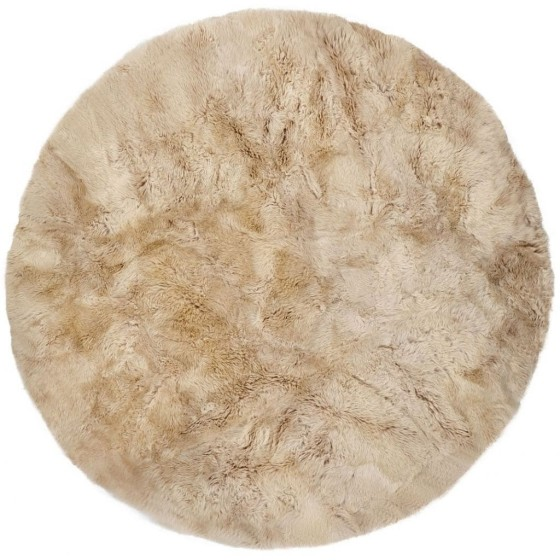 NATURES COLLECTION - NEW ZEALAND DESIGN RUG LONGWOOL ROUND 250 CM