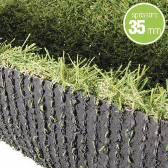 VERDELOOK - ERBA ARTIFICIALE spessore 35mm rotolo da 2x20 metri