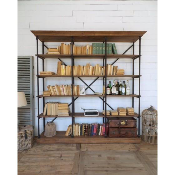 ORCHIDEA - Libreria Industrial cm.213x45xh.213