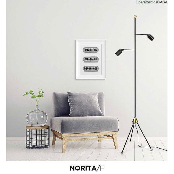 INTERIA - NORITA/F LAMPADA DA TERRA