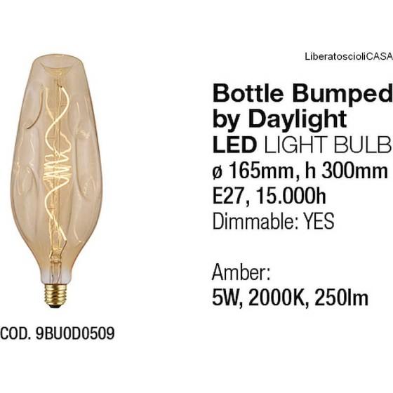 INTERIA - LAMPADINA BOTTLE BUMPED LED