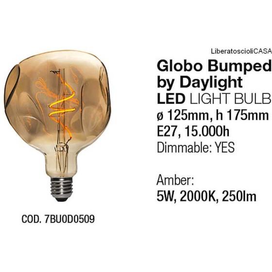 INTERIA - LAMPADINA GLOBO BUMPED LED