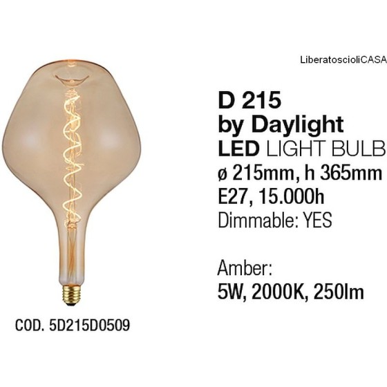 INTERIA - LAMPADINA D215 LIGHT BULB