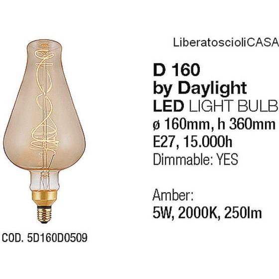 INTERIA - LAMPADINA D160 LED LIGHT BULB