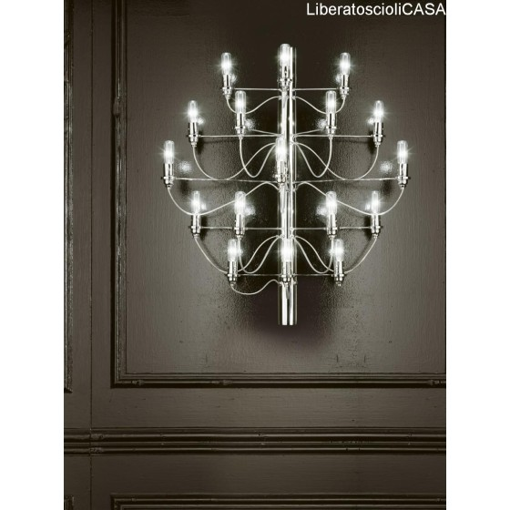 VESOI - SCAR 65/ap17 led LAMPADA DA PARETE CROMO