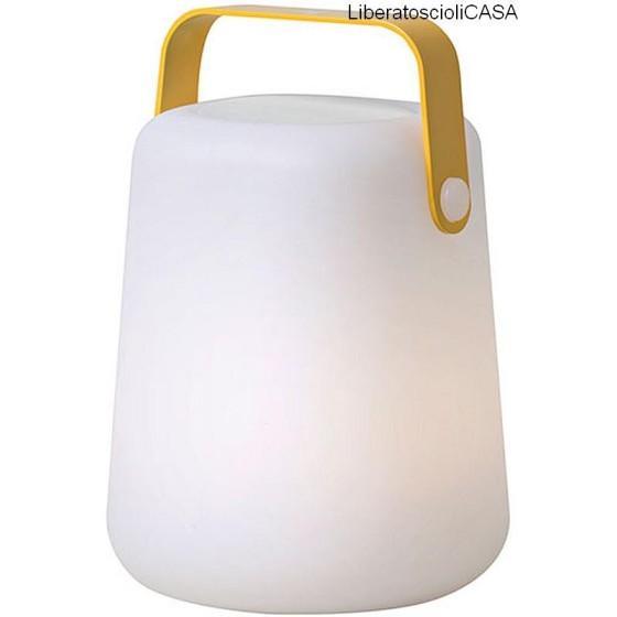 ROSSINI ILLUMINAZIONE - LAMPADA TAKE AWAY SOUND RGB CON MANICO GIALLO