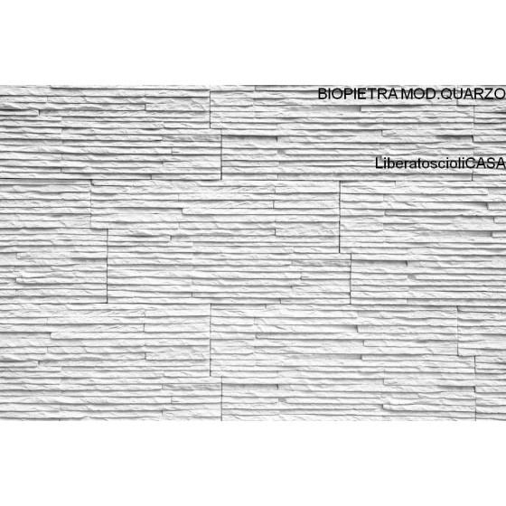BIOPIETRA - RIVESTIMENTO IN PIETRA MONTE BIANCO LIVING COLLECTION