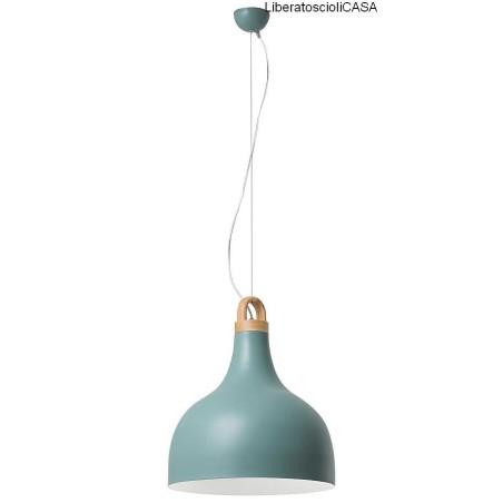 ROSSINI ILLUMINAZIONE - BELL LAMPADA A SOSPENSIONE E27 NERO BIG 1X40W