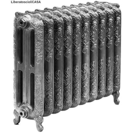 GAIA - Radiatore Idraulico in ghisa 710x852cm con 10 elementi colore antracite