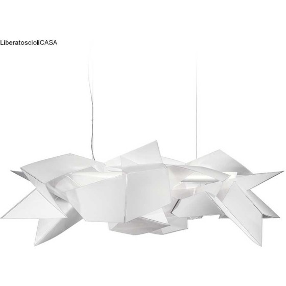 SLAMP - CORDOBA  BY DANIEL LIBESKIND LAMPADA A SOSPENSIONE