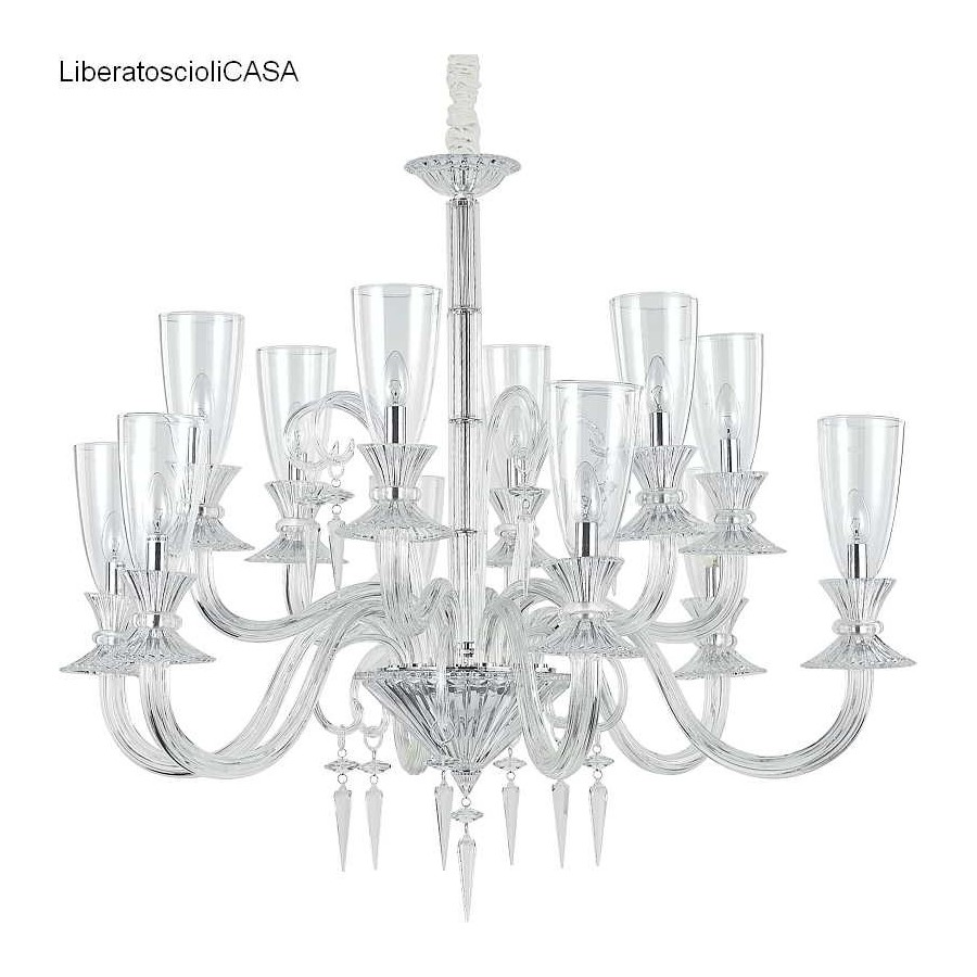 IDEAL LUX - BEETHOVEN SP12 LAMPADA A SOSPENSIONE