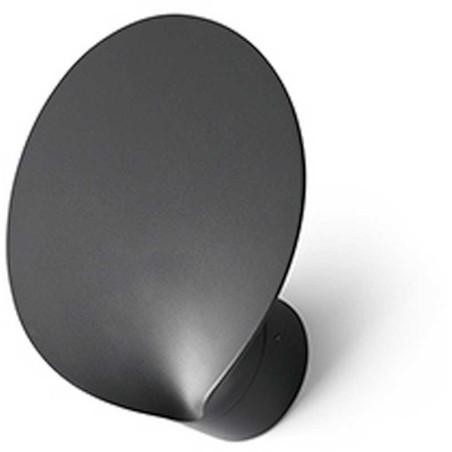 FARO BARCELONA - LOTUS Lampada da parete grigio scuro