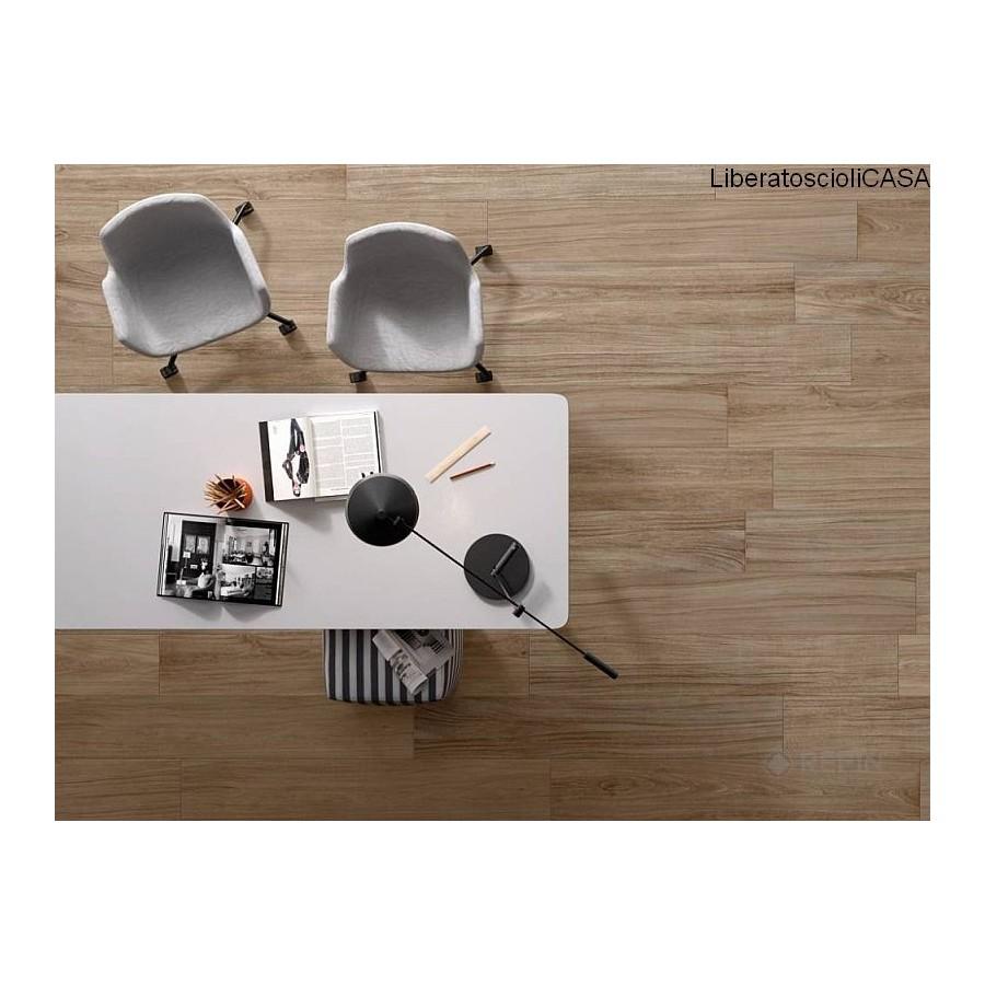 REFIN - BARK collezione Giant Piastrelle effetto legno di castagno